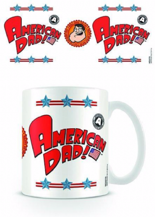 American Dad (Logo) - MUG (11oz) (Brand New In Box)